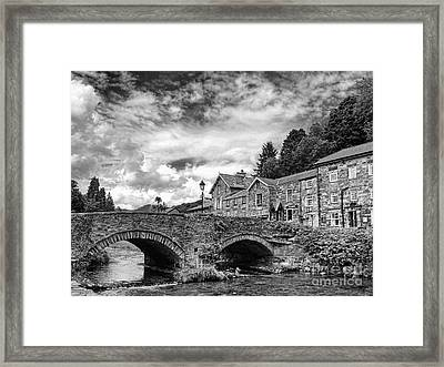 Beddgelert Village 2 Framed Print by Graham Taylor