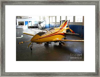 Bede 5 . Bd5-b . Kit Airplane Using Honda And Mazda Engines . 7d11166 Framed Print by Wingsdomain Art and Photography