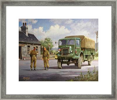 Bedford Ql Framed Print by Mike  Jeffries
