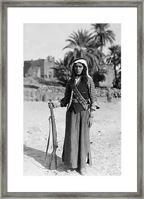 Bedouin Youth, C1926 Framed Print by Granger