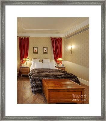 Bedroom Interior Framed Print