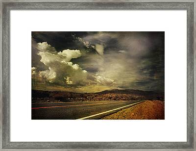 Been Down This Road Before Framed Print by Laurie Search