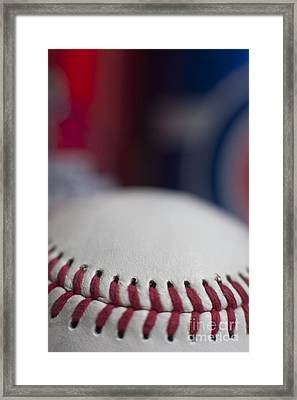 Beer And Baseball Framed Print by Alan Look