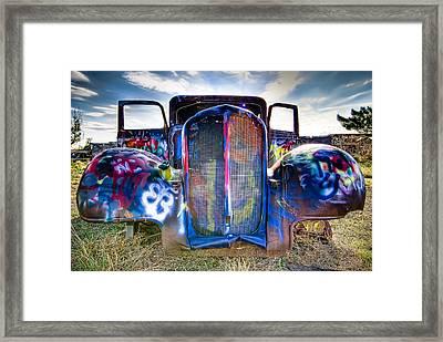 Beetle Framed Print by Anna Rumiantseva
