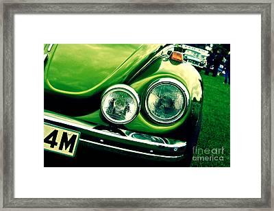 Beetle Framed Print by Jo