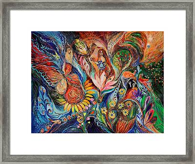 Before First Sin ... Original On Www.elenakotliarker.com Framed Print by Elena Kotliarker