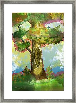 Before The Fall Framed Print by Melisa Meyers