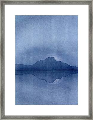 Before The Moonrise Framed Print by Hakon Soreide