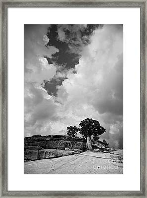 Before The Storm 2 Framed Print