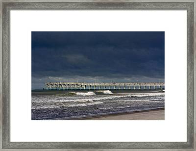 Framed Print featuring the photograph Before The Storm by Laurinda Bowling