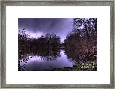 Before The Storm Framed Print by Paul Ward