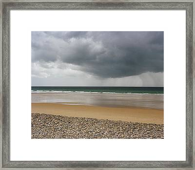 Before The Storm Framed Print by Photography by Reza Bassiri