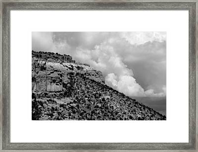 Framed Print featuring the photograph Before The Storm by Vicki Pelham