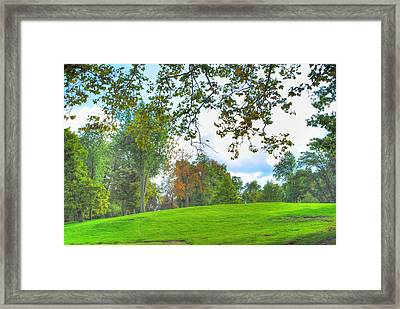 Framed Print featuring the photograph Beginning Of Fall by Michael Frank Jr
