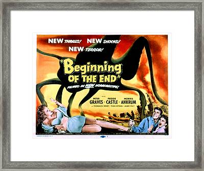 Beginning Of The End, The, Peter Framed Print by Everett