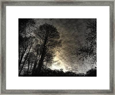 Beginning Of Twilight Framed Print by Prashant Ambastha