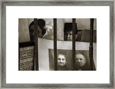 Behind Bars Framed Print by RicardMN Photography