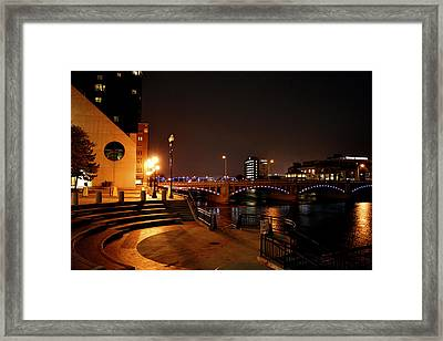 Behind The Amway Framed Print by Richard Gregurich