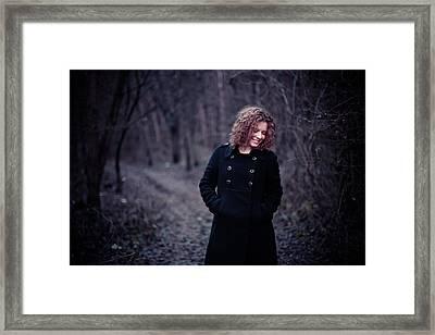 Behind The Wall Framed Print by Mircea Turdean