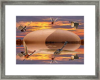 Beijing Rocks Framed Print