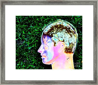 Being Of Light Framed Print by Xn Tyler