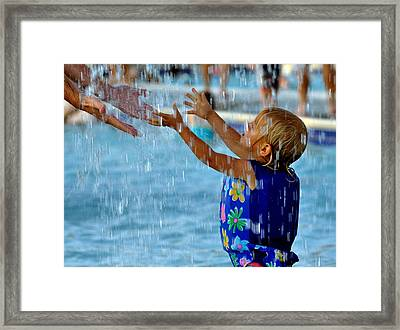 Being There Framed Print by Roy Williams