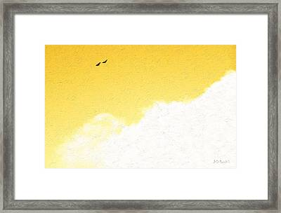 Being Together Framed Print by Brian D Meredith