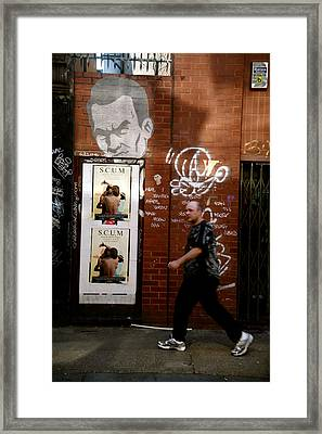 Being Watched All The Time Framed Print by Jez C Self