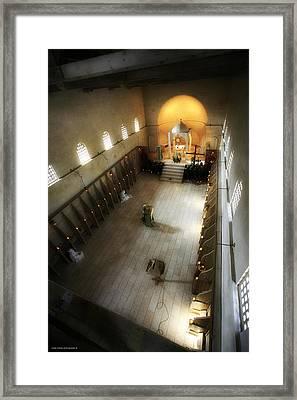 Beit Jamal Monastery 3 Framed Print by Isaac Silman