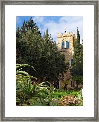 Beit Jamal Monestary 03 Framed Print by Arik Baltinester
