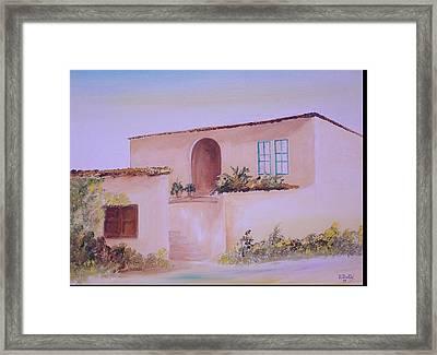 Bekaa House Framed Print by Nabil Wehbe