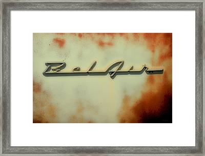Bel Air Insignia II Framed Print by Tony Grider