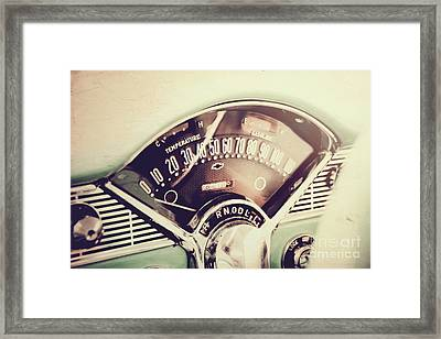 Belair Dashboard Framed Print