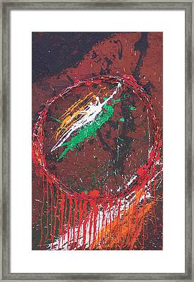 Belfast Dreamcatcher Framed Print