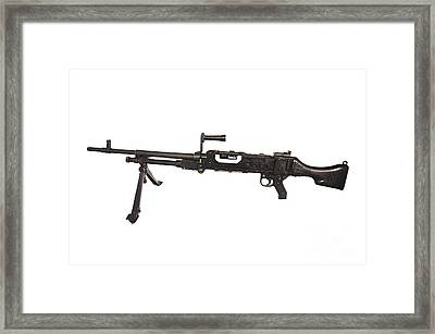 Belgian Fn Mag 7.62mm General Purpose Framed Print by Andrew Chittock