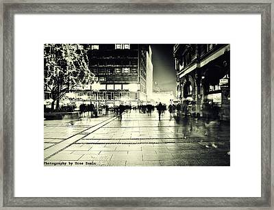 Belgrade... Framed Print by Uros Zunic
