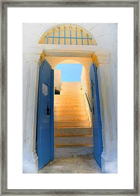 Believer's Entrance Framed Print by Paul Cowan