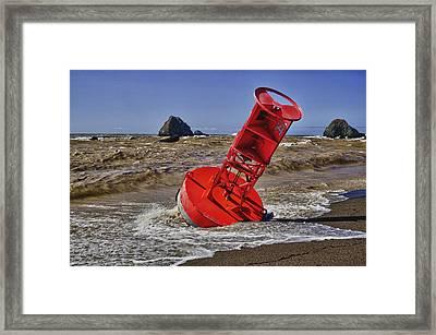 Bell Buoy Framed Print by Garry Gay