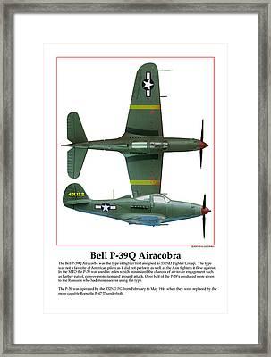 Bell P39q Airacobra Framed Print