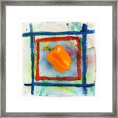 Bell Pepper  Framed Print