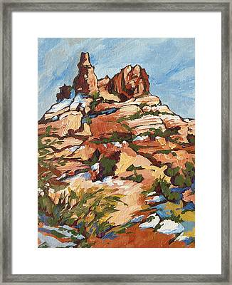 Bell Rock 2 Framed Print by Sandy Tracey
