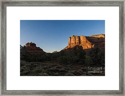 Bell Rock Sunset Framed Print