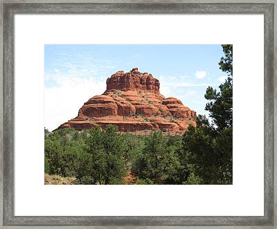Bell Rock Framed Print by William Francis