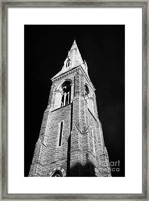 Bell Tower Of The Mariners Church Now The National Maritime Museum Dun Laoghaire Dublin Framed Print by Joe Fox