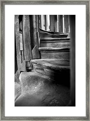 Bell Tower Steps1 Framed Print by John  Bartosik