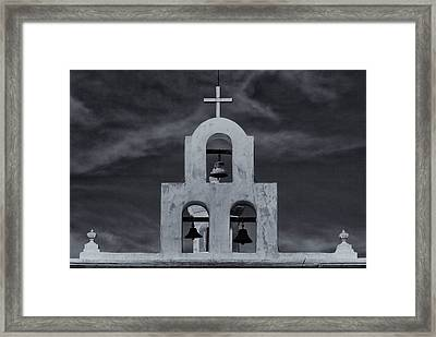 Framed Print featuring the photograph Bell Tower by Tom Singleton