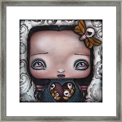 Bella Framed Print by  Abril Andrade Griffith