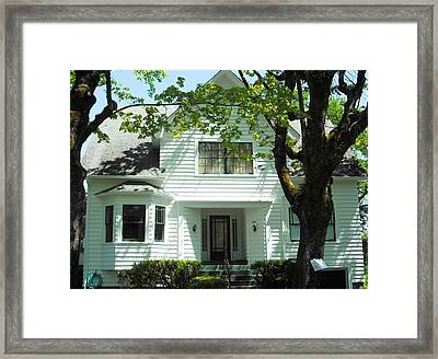 Bella Swan House Saint Helens Framed Print by Kelly Manning