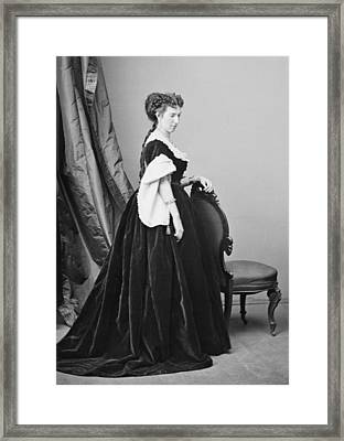 Belle Boyd 1844-1900, Confederate Spy Framed Print