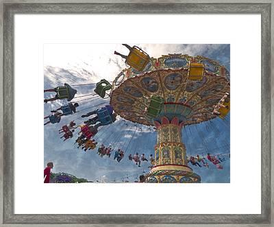 Belle Epoque Fair Framed Print by Miguel Valvano